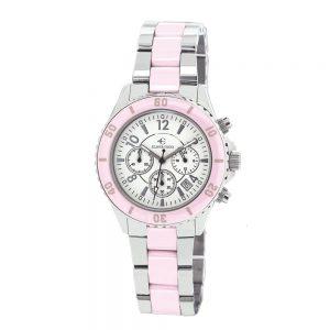 Elmer INgo Semi Ceramics Chronograph XS BW Pink (Ladies)
