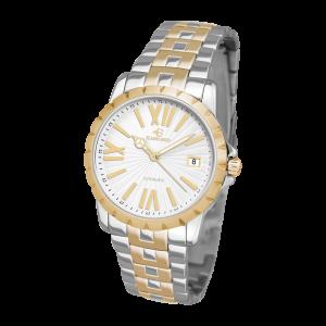 Elmer Ingo Meccanica Classic White & Gold (Gents)